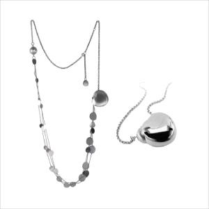 gioielli argento Collana Bloom